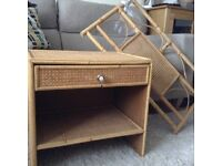 Bedside cabinet and matching single headboard