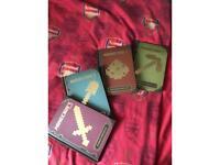 4 mine craft books