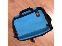 "Crumpler Prime Mover Slim for 15"" Laptops in Neptune Blue Neoprene Material"