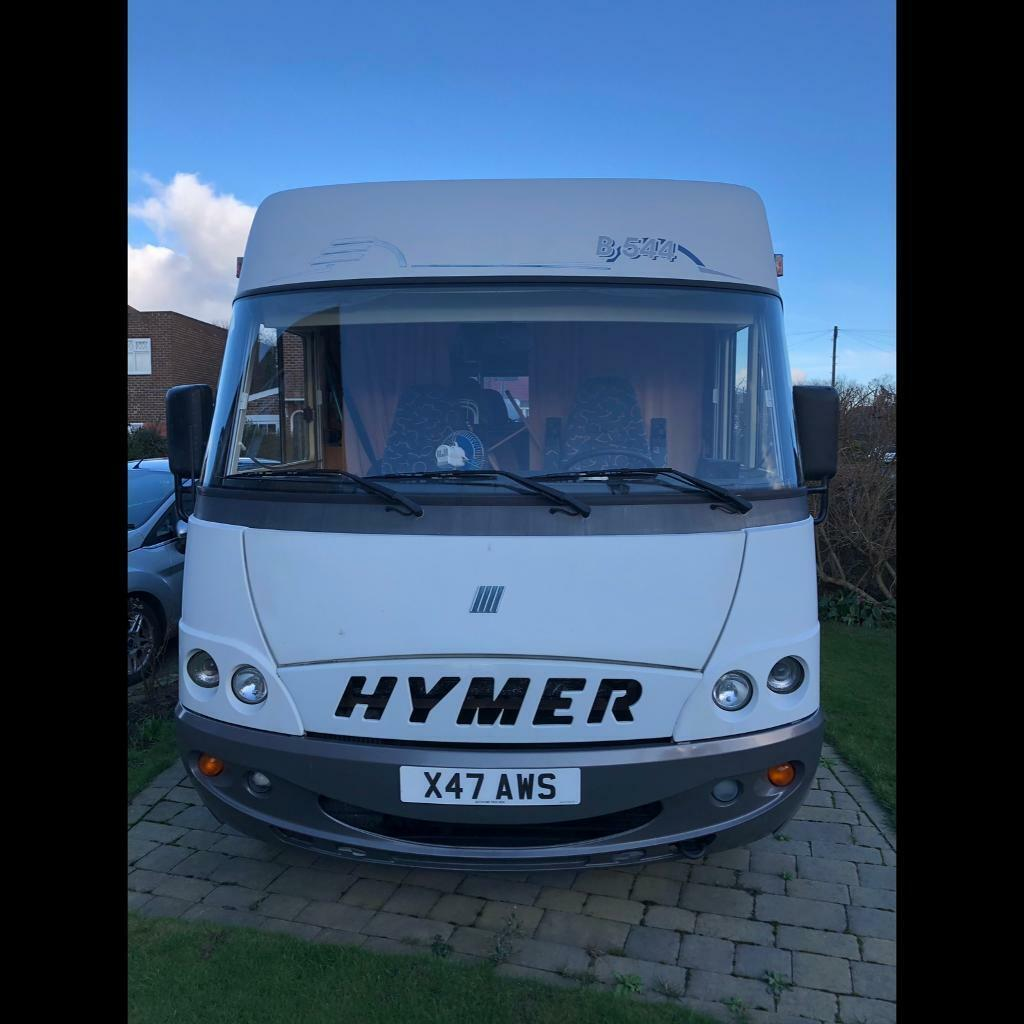 91390a976f7158 Hymer B544 - 5 berth - 5 travelling seats - low milage