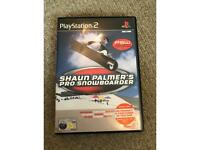 Shaun Palmers Pro Snowboarder PS2