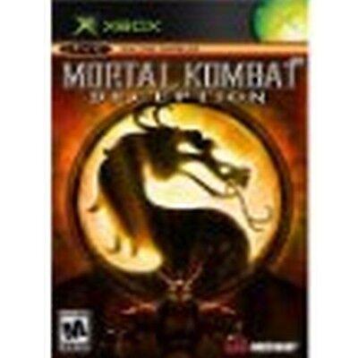 Mortal Kombat Deception Black Label Version XBOX NEW factory sealed segunda mano  Embacar hacia Argentina
