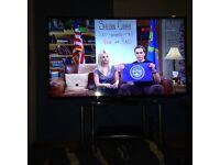 Luxor 55 inch hd tv smart wireless 2 months old