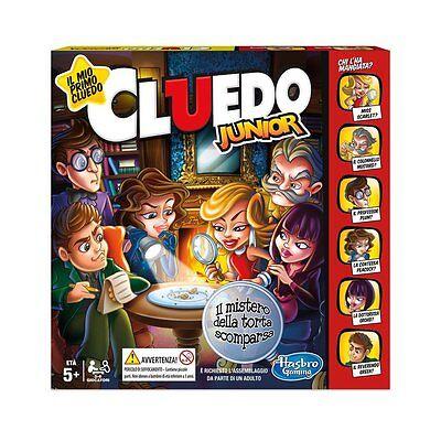 CLUEDO JUNIOR gioco di società C1293103 HASBRO -nuovo- Italia
