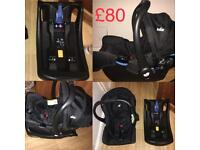 Baby car seat and isofix