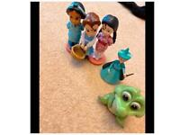 Disney figures toys cake toppers