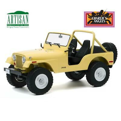 GREENLIGHT 19078 Charlie's Angels 1980 Jeep CJ-5 Diecast Car 1:18