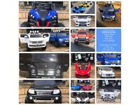 For the coolest most awesome birthday presents. The Largest Collection Ride-On Cars,