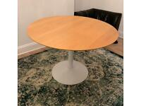 Table ROUND DINING TABLE ON TULIP BASE 110cm Dia