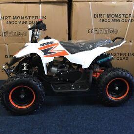 50cc quad dirt monster kids quad new