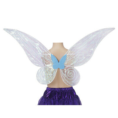 Butterfly Wings Adults (Adult Kids Color Changing Butterfly Angel Fairy Wings Party Cosplay Prop)