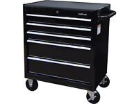 NEW 2018 Halfords 5 Dr Bottom Cabinet / Tool Chest / Toolbox / FREE Local Delivery Within 30 Miles