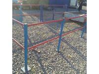 Safety railing suit warehouse shed workshop etc