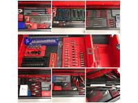 Snap on blue point Tools Job Lot, Sockets, Spanners, pliers, ratchets