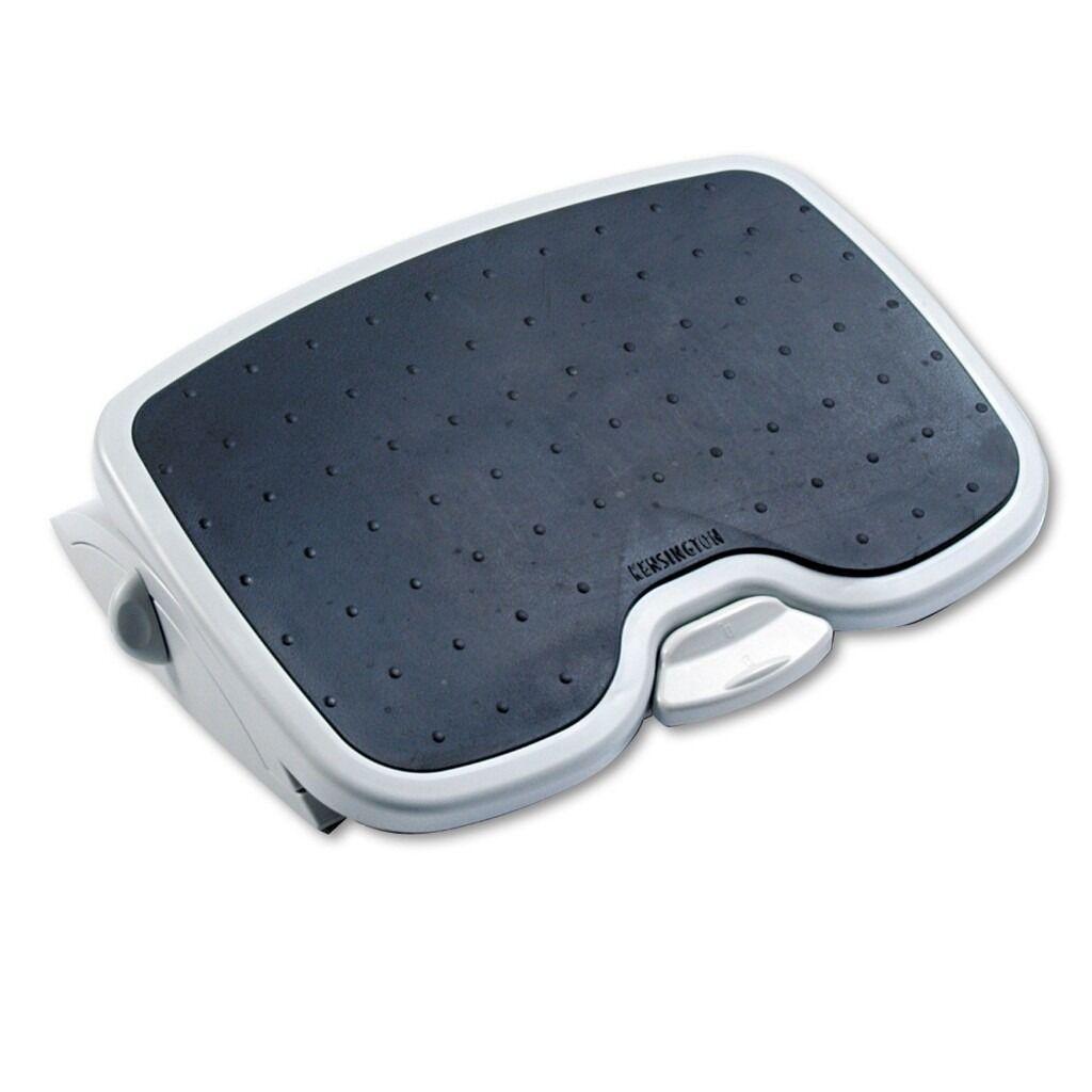 Kensington Solemate Plus Adjustable Footrest - Grey