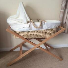 Mamas & Papas Beautiful Moses Basket