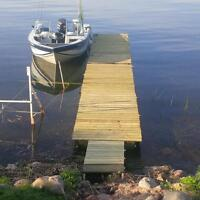 26 ft of floating dock 1 year old