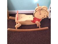 baby rocking horse chair/baby rocker