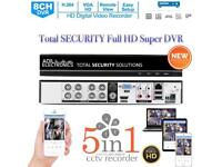 Total SECURITY Full HD 5in1 DVR