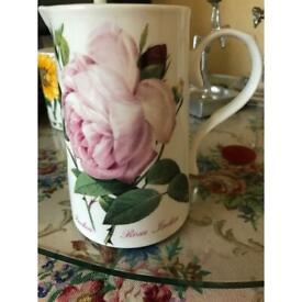 Fine bone china jug - rose design
