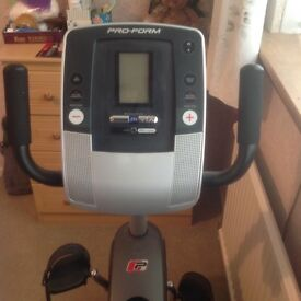 Exercise Bike, Excellent Condition, Hardly Used.