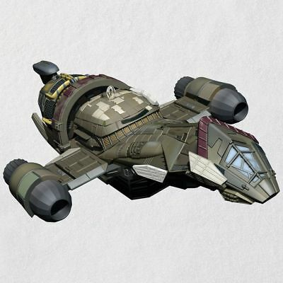 2018 Hallmark Firefly Serenity Magic Light Ornament Captain Mal Reynolds Space - Space Fireflies