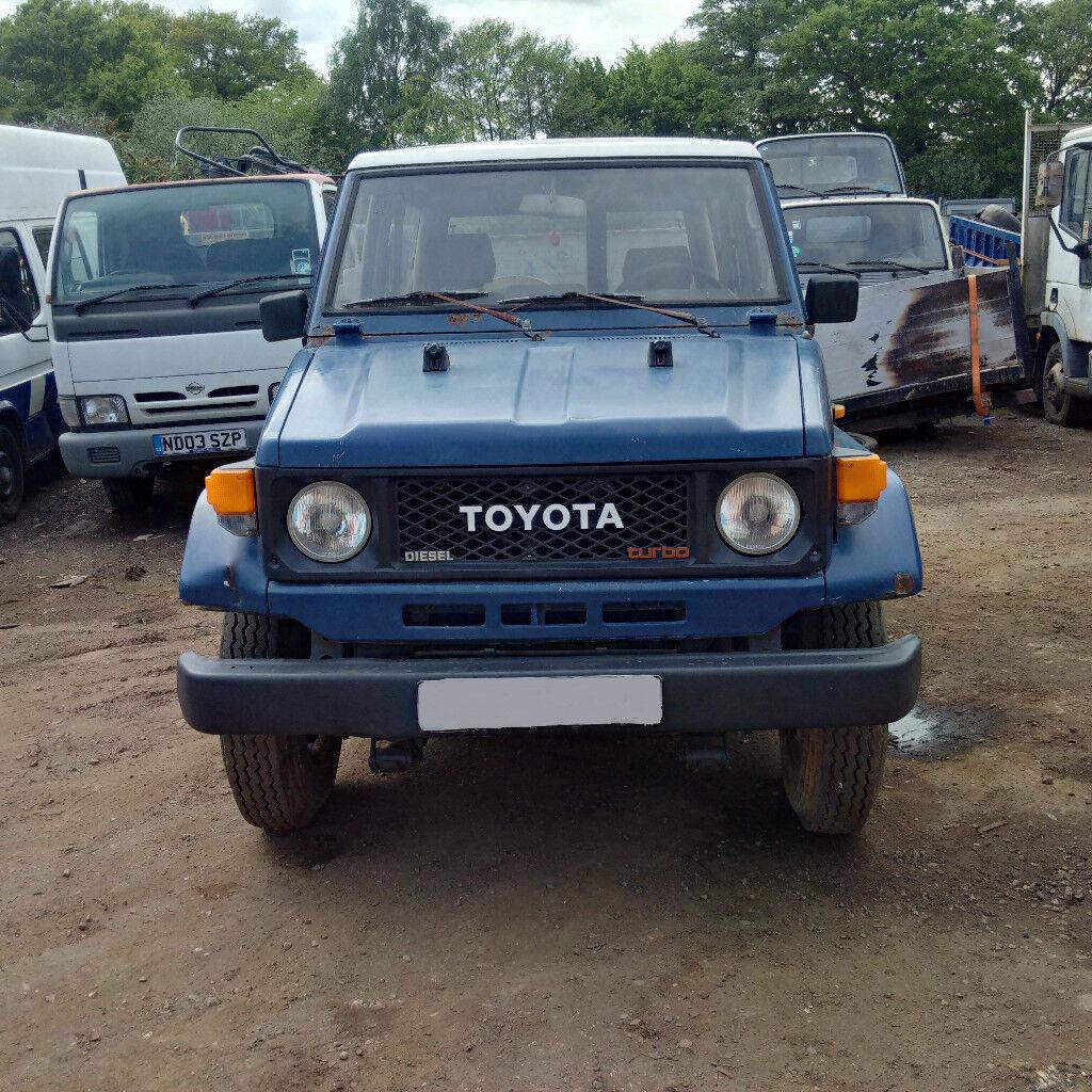 Toyota Convertible: Left Hand Drive Toyota Landcruiser Turbo BJ73 4X4