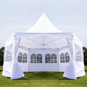 13x13ft Pagoda Party Tent with Removable Sidewalls Patio Wedding Canopy / Event Tent Wedding Tent / Tent For sale