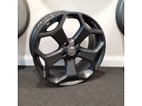 "18"" Ford TST (Gunmetal() style alloy wheels and tyres (5x108) Suits Ford Focus,Mondeo, Connect etc."