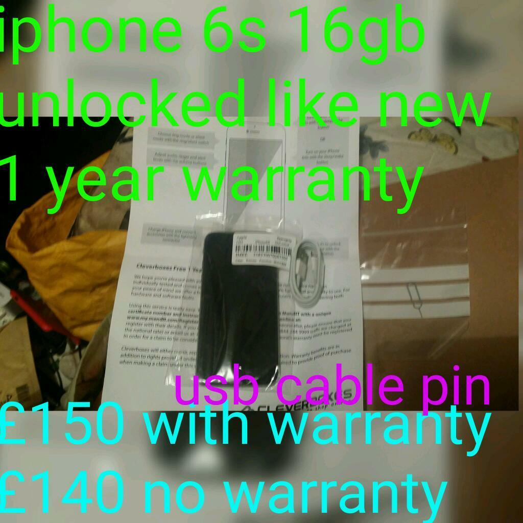Iphone 6s 16gb Unlocked Like New 1 Year Warranty In Uxbridge 6 Cable Schematic