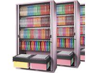 2 x Railex Suspension Folders