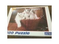 500 piece puzzle good condition