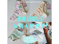 Marble printing and knicker sewing masterclass
