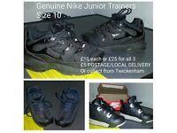 Genuine Nike Junior Size 10 Trainers