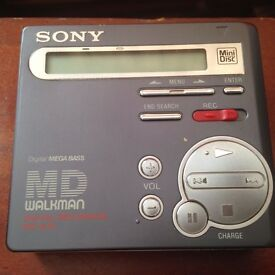 Sony MZ-R70 mini disc player