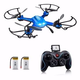 Drone with HD Camera, Potensic® F181H 2.4G 4CH 6Axis RC Quadcopter Drone