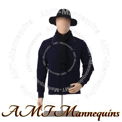 # YMT3-FT, Male half body mannequin torso+stand,head rotate,skin tone dress form, used for sale  Shipping to Canada