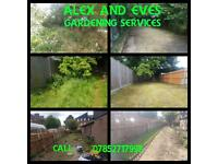 Alex & Eve's Gardening services