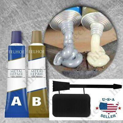 A+B Metal Repair Paste Adhesive Super Glue Heat Resistance Cold Weld Glue Gel