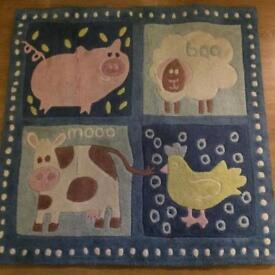 Rug for child's bedroom/nursery