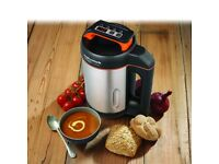 Morphy Richards 501013 Brushed Stainless Steel Soup Maker, New Ex Display RRP 99.99 (Free Delivery)