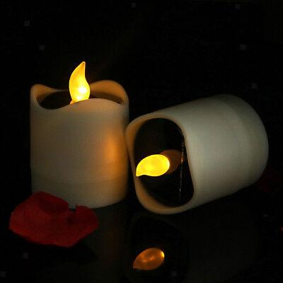 Flammenlose Solar LED Kerze Teelicht für Hochzeit Memorial Day Home Decor