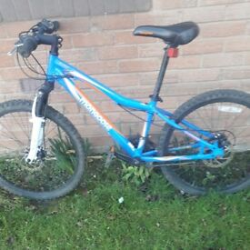 Boys Mongoose disc brake mountain bike