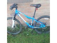 Boys Mongoose disc brake mountain bike