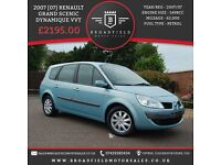 2007 [07] Renault Grand Scenic Dynamique VVTi | 1.6 Petrol | Full MOT | Low Miles | 3 Month Warranty