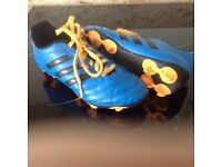 Football boots size 2 Adidas with bag. Excellent condition collection Horsham