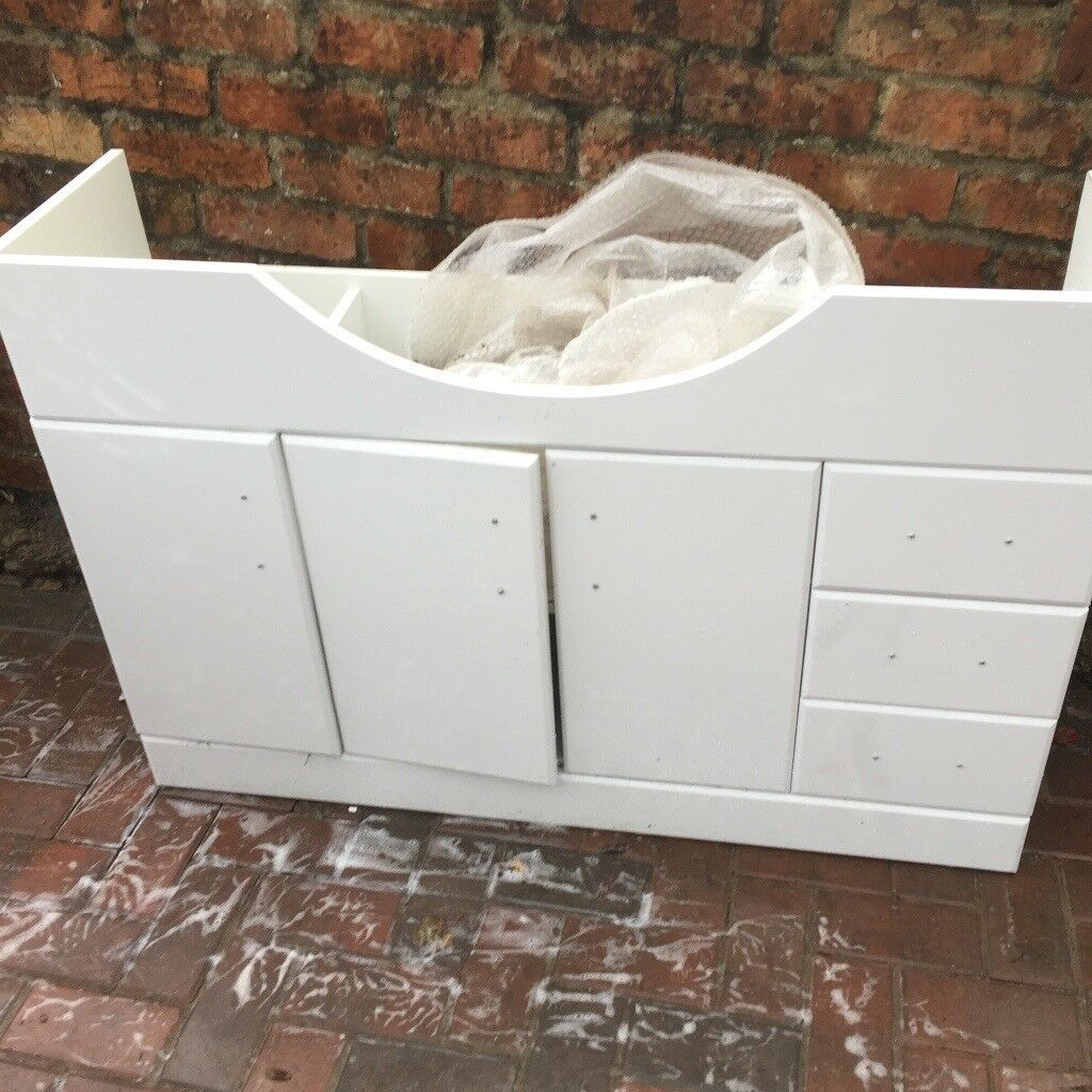 1200 bathroom basin unit