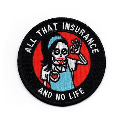 ALL THAT INSURANCE AND NO LIFE PATCH BY MEAN FOLK