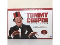 THE TOMMY COOPER COLLECTION EXCLUSIVE DVD & JOKE BOOK