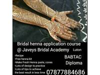 Bridal Henna application course Luton/ London